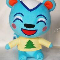 Animal Crossing Filbert Blue squirrel 8'' Stuffed plush toys game soft doll gift