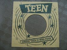 Record Sleeve Reproduction - Teen