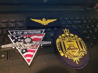 3--US NAVY OFFICERS PATCHES A-6 PILOT--NAVY ACADEMY PATCH SEE STORE NAVY PATCHES