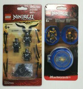 LEGO 853866 853758 Ninjago Masters Spinjitzu Oni Villains Jay Minifigure Bundle