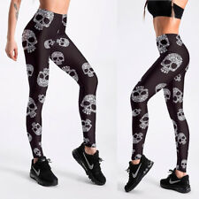 d6d422500fe22 UK SUGAR CANDY FLORAL SKULL LEGGINGS Boho Gothic Gift Idea Yoga Clubbing  Fitness