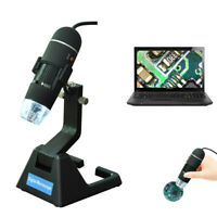 New USB Digital Microscope Endoscope Magnifier 600X Video Camera 8 LED