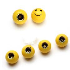 4x Smile face Auto Car Wheel Tyre Tire Valve Stems Caps air Dust Cover Universal
