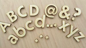 Holz-Buchstaben GROß und KLEIN 5-30 cm IN IHRER WUNSCHGRÖße Laserschnitt DIY