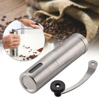Manual Coffee Bean Grinder Stainless steel  Hand Held Mill Portable UK