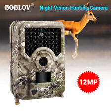 12MP Night Vision Hunting Camera 940NM Waterproof Housing Security Trail Camera