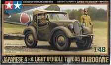 Tamiya Japanese 4X4 Light Vehicle Type 95 Kurogane in 1/48 32558