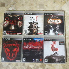 PS3 Playstation 3 ✨DEADLY PREMONITION✨SPLATTERHOUSE✨SILENT HILL DOWNPOUR✨SAW II✨