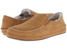 Women's Shoes OluKai NOHEA SLIPPER Sheepskin Loafers 20269-ARAR TOBACCO