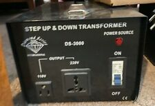 2 Diamond Series International Step up Step Down Transformers - 3000W