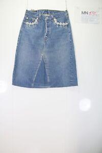 Levi's 501 Jupe Long (Code MN194) tg.44 W30 Jeans Utilisé Mode Vintage Rétro
