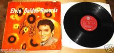 ELVIS PRESLEY GOLDEN RECORDS RED SEAL SCOTTY MOORE & DJ SIGNED UK LP UACC DEALER