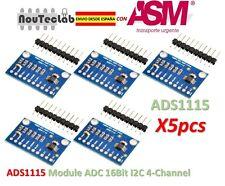 5pcs ADS1115 Module ADC Module 16Bit I2C 4-Channel ADS 1115