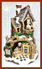 Fitz & Floyd Holiday Hamlet Mr. Winterberry'S Pie Shop Enchanted forest with Box