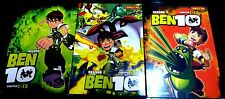 Ben 10: Season 1 2 3 4 (Chapter 1 - 49 End + Movie) ~ 4-DVD SET ~ English Dubbed