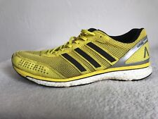 Size 9.5 Running Trainers ADIDAS Adios Boost 2.0 Haile Yellow Black Art S77896