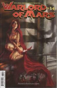 Warlord of Mars #34B VF/NM; Dynamite | save on shipping - details inside