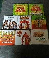 CD SINGLE PACK 8 CDS - KING AFRICA - LOS DEL RIO - SALTA 2001 - LA BOMBA - RARE