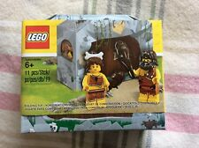LEGO 5004936 GENUINE ICONIC CAVE SET WITH CAVEMAN AND CAVEWOMAN MINIFIGURES BNIB