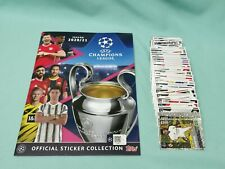 Topps Champions League Sticker 2020/2021  Komplett Set alle 580 Sticker + Album