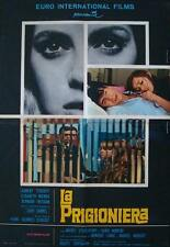 WOMAN IN CHAINS La PRISONNIERE Italian 1F movie poster CLOUZOT 1968
