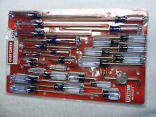Craftsman Phillips Slotted Torx Screwdriver Set, NOS USA (28 pcs) - Part # 31797