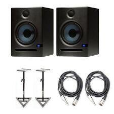 "PreSonus Eris E5 2-Way 5.25"" Studio Monitor Pair w/ Stands & Cables"