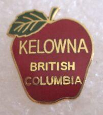 City of Kelowna, BC, Canada Travel Souvenir Collector Pin-Apple
