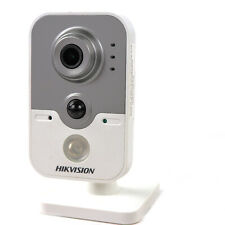 Hikvision English Version DS-2CD2432F-IW 3MP 4mm Network Cube Camera w/o Adapter