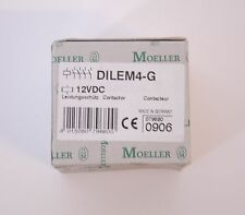 MOELLER DILEM4-G CONTACTOR 4POLE 20AMP 600VAC 3 PHASE 12V DC NEW