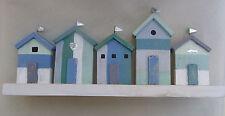 Seaside Beach Hut  Decoration Handmade FREE POST nautical home decor NEW