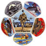 2016 Central Florida Council Boy Scout Military Armed Forces CSP Patch Set Lot
