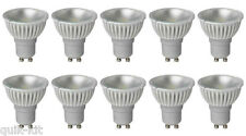 10 X MEGAMAN 141910 LED Gu10 Par16 Lamp 4 Watt 35 Degree 2800k Warm White