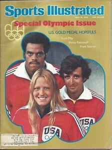 1976 7/19 Sports Illustrated magazine Olympics Scott May, Indiana Hoosiers GOOD