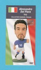 FOOTBALL - CORINTHIAN  -  FOOTBALLER  CARD  -  ALESSANDRO  DEL  PIERO  OF  ITALY