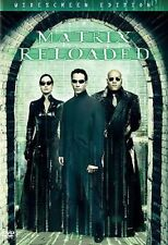 The Matrix Reloaded (DVD, 2003, 2-Disc Set, Widescreen) Keanu Reeves Carrie-Ann