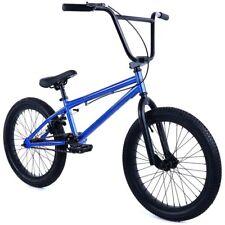 "20"" BMX Stealth Bike with 20 x 2.5"" tires Blue"