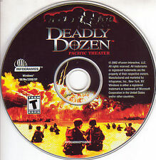 DEADLY DOZEN PACIFIC THEATER Classic Strategy for Windows PC Game CDrom NEW