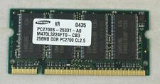 Samsung 256MB 200-Pin DDR PC2700 SODIMM RAM Laptop Memory