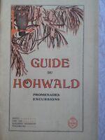 Guide du Hohwald promenades excursions