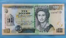 2001 BELIZE 10 Dollars GEM UNC <P-62b>