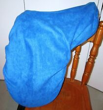 Horse Saddle cover ROYAL BLUE with FREE EMBROIDERY Australian Made Protection