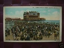 Sunday Bathing Crowd,  Atlantic City, N.J. postcard