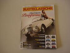 RUOTECLASSICHE 8/2007 FIAT OPERA/DINO/LANCIA AURELIA/FLORIDA/ALFA 1900/2600