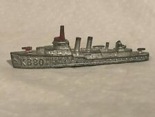 Tootsietoy Navy Destroyer Diecast Toy Boat