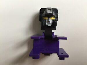 Transformers G1 Parts 1985 DEVASTATOR head face takara #3
