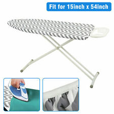 """Ironing Board Cover Coated Thick Padding Heat Resistant Scorch Pad 15"""" x 54"""" Us"""