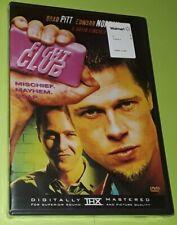 Fight Club Dvd - New Sealed 1999 Action Drama Fighting Violence Brad Pitt 2012