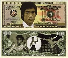 Bruce Lee Million Dollar Novelty Money