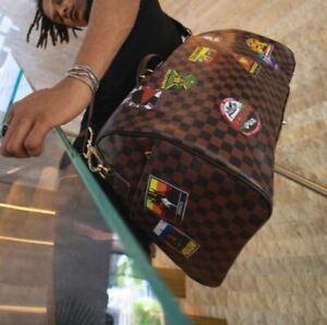 SPRAYGROUND Global Mogul Emperor Duffle Bag Limited Edition DEADSTOCK